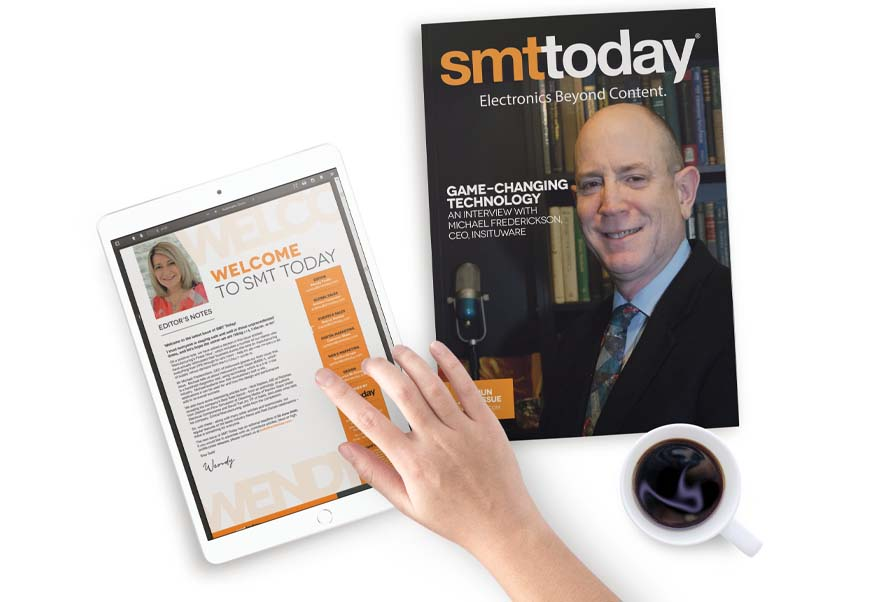SMT Today digital and printed edition subscription