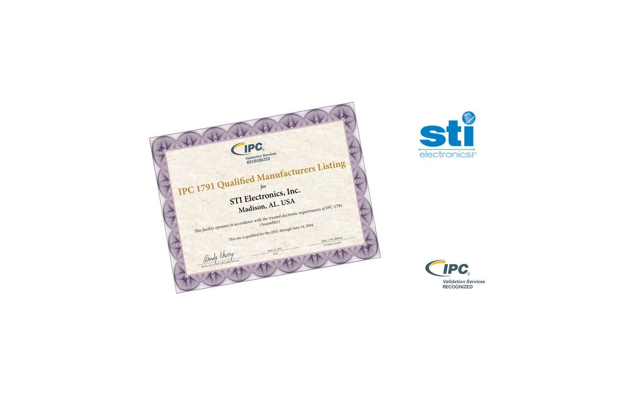 STI Electronics 1791 QML